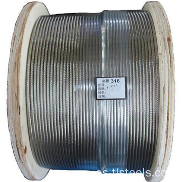 Cable de acero inoxidable de 3 mm