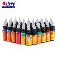 Solong Tattoo 30ml/Bottle 50 Colors High Quality Tattoo Color Ink Set