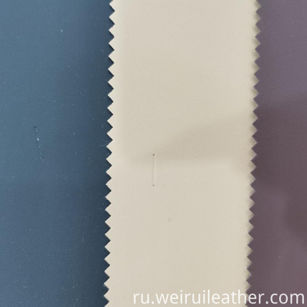 Soft Bright Color Pvc Leather