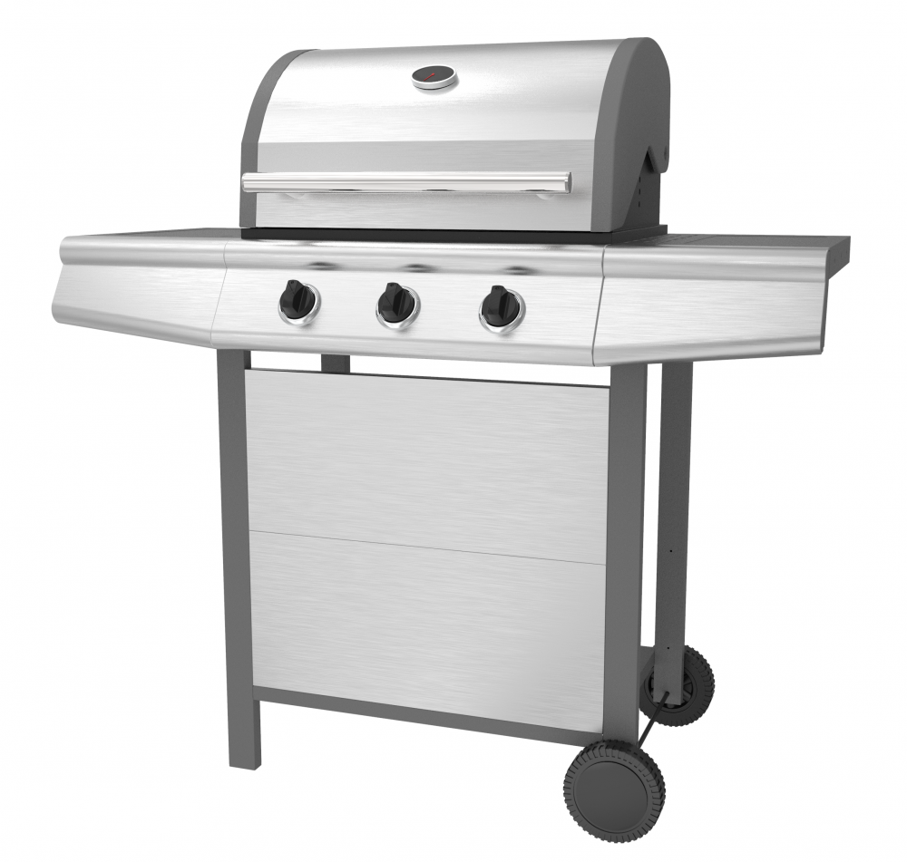 Stainless Steel Gas BBQ Grill