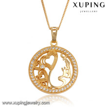 32552 Xuping wholesale new arrival top quality Synthetic CZ jewelry fashion pendant for women