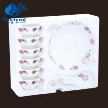 Conjunto de sopa produtos vidreiros-14PCS Opal resistente ao calor