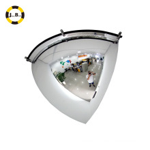 Quarter dome mirror/indoor safety convex glass mirror