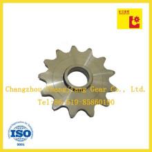 OEM agrícola de acero inoxidable piezas de maquinaria rueda dentada
