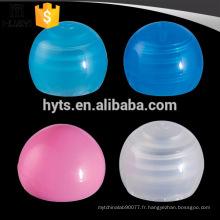 Bouchon rond en plastique 20/410 pour bouteille de lotion cosmétique en plastique