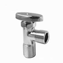 Hot sale manufacturer new style two-way angle storm valve, chrome plated, triangle valve