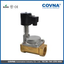 """Высококачественный соленоидный клапан 24v паровое масло для подогрева 1/2 """"клапан 300 градусов C"""