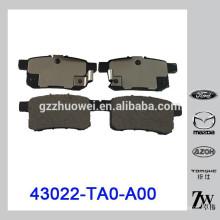 Japan Original Rear Disc Bremsbeläge für Hon-da Accordd 43022-TA0-A00