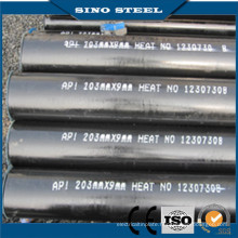 A106 API5l Hot Rolled Seamless Steel Pipe for Oil Pipe