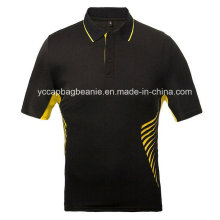Kunden-verschiedene Sport-Arten Frauen Baumwollpolo-Hemd