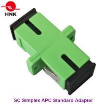 Sc Simplex Singlemode APC Standard Kunststoff Faseroptik Adapter