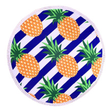 Bright Fun Colours Fruit Round Beach Use Towel