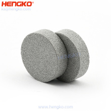 High Temperature Sintered Powder Stainless Steel 304 316 316L Material Porous Filter Disc