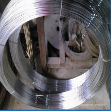 Fil en acier galvanisé ovale à haute résistance à la tension