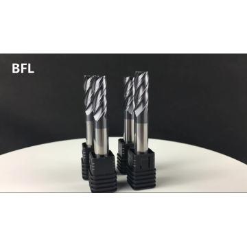 Fresas planas de 14 mm de carburo sólido BFL D14 * FL45 * 100L * 4F
