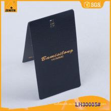 Hangtag de la ropa, Hangtag de la ropa, Hangtag LH30005 del papel