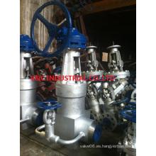 Válvula de la puerta de vapor de alta presión 4500lb