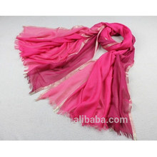 100% viscose lenço metálico lurex moda