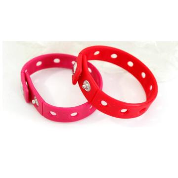 Wholesale Fashion Silicone Kids Bracelet Rubber Band