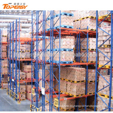 heavy duty pallet racking system double deep rack