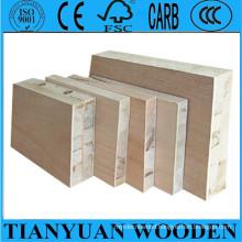 Linyi 15mm 18mm 21mm Wood Block Board for Furniture