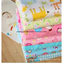 Bebé / Ropa de cama / Estampado / Peinado / Tejido / Tela de franela