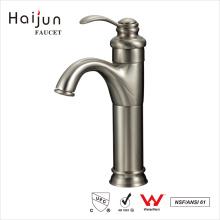 Haijun Top Selling clásico 0,1 ~ 1.6MPa cubierta montada grifos del lavabo del agua