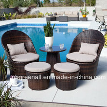 Rattan Furniture Leisure Tea Table Coffee Table Set for Outdoor