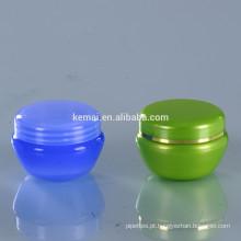 Creme de creme de plástico creme cosmético vaso vazio PS PET PP make-up cosméticos garrafa cuidados com a pele china plástico fornecedor frascos
