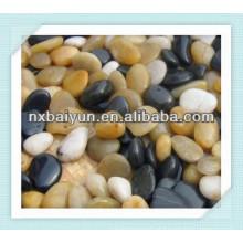 Pebbles de praia branca pedra de adubo