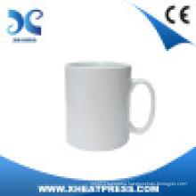 Coated Mug, White, Blank, Ceramic Mug