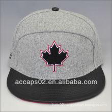 fashion melton snapback hat