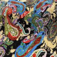 Printing Polyester Crepe Fabric for Dress/Coat