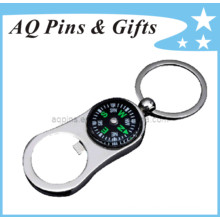 Key Chain Bottle Opener with Compass