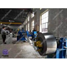 Simple slitting and cutting Line