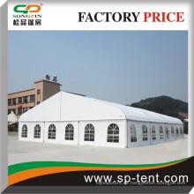 18x20m Riesengekrümmte Outdoor-Event Marquee Zelte für Ausstellung Hochzeitsparty Sport Verschiedene Nutzungen