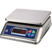 Échelle de pesée électronique étanche à l'eau IP68 à l'acier inoxydable 30kg