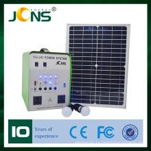 100W batería del inversor del panel solar solar solar solar del kit que acampa Generación de energía solar