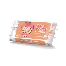 Organic Biodegradable Water Baby Wet Wipes