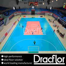 Pavimento de futebol Indoor Floor Floor Sports