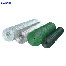 cheapest price 1''x1''Galvanized welded wire mesh hot dip wire PVC coated wire mesh