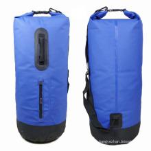Acampar ao ar livre 40 litros de pvc saco mochila impermeável seco (yky7207)