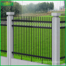 china wholesale wrought iron fencing, zinc steel fence panel