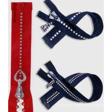 #5 Auto Lock Open or Closed End Diamond Zipper (SBD002)