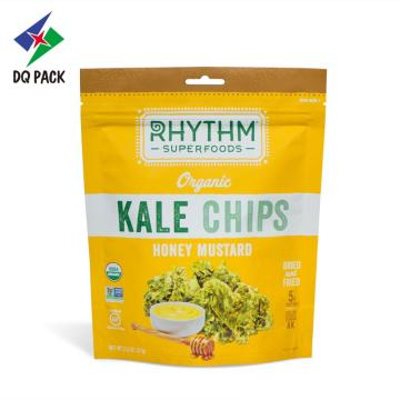 Kale Stand Up impresso personalizado Zipper Bag