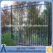 Anti-rust Wrought Iron Fence & aluminum fence with new fashion