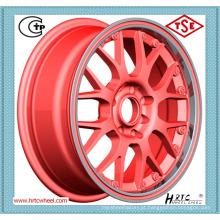 Preço competitivo roda de liga vermelha roda linha de liga vermelha para carros