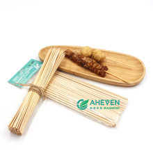 Good Polishing Bamboo BBQ Grill Meat Skewers Sticks Long With Size 50 cm