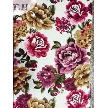 2015 Imprimir Tejido de terciopelo de tapicería