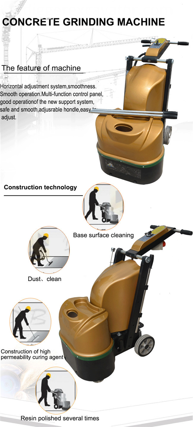 220V Concrete Grinding Machine Floor
